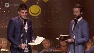 Gouden RadioRing 2016 - Optreden Jordi en Johan