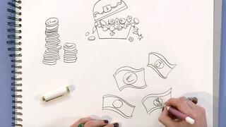 Jill - DIY: Technisch tekenen geld