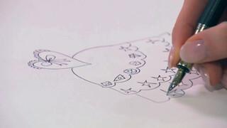 Jill - DIY: Technisch tekenen prinsessenjurk