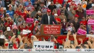 Nos Amerika Kiest - Nos Journaal: Inauguratie Donald Trump