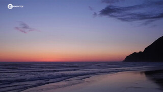Cannon Beach - by night