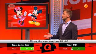 Minnie en Mickey Mouse zijn niet getrouwd