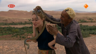 Sigrid het slangenmens!