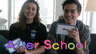Wie zou het eerst...Tag - May & Edwin - After School | BRUGKLAS