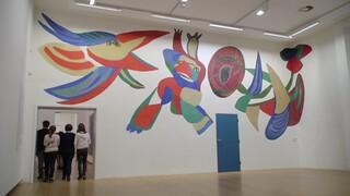 Altijd te zien - Appelwand in Stedelijk Museum Amsterdam