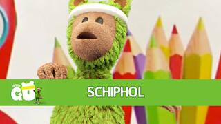 Zappelin Go Joe op Schiphol