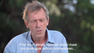 Hugh Laurie over The Night Manager
