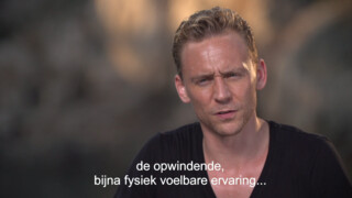 Tom Hiddleston over The Night Manager