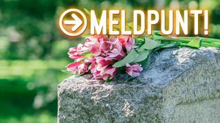 Foto's van graven ongevraagd op internet