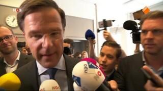 NOS Journaal 13.00 uur (Nederland 2) NOS Journaal persconferentie fractieleiders