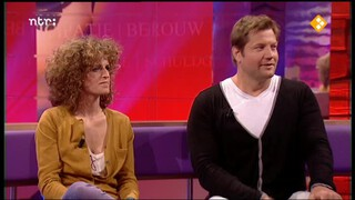 Carolien Borgers en Dennis van der Geest