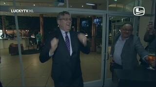 LuckyTV - Henk Krol op zijn afterparty