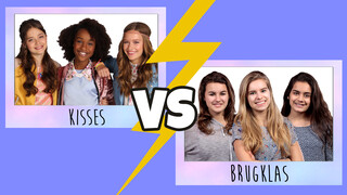 KISSES VS BRUGKLAS: FINISH THE LYRICS