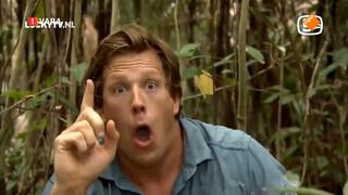 LuckyTV: Freek Vonk sloopt jungle. Maar wel heel enthousiast