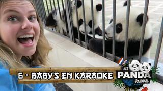Britt's China Vlog - Panda baby's en karaoke