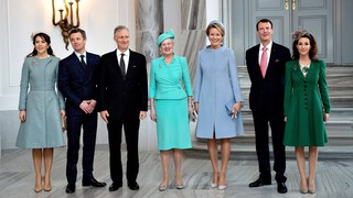 Filip en Mathilde op bezoek bij Deense royals