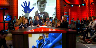 Schilderen met blauwe vrouwen