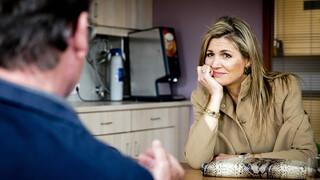 Koningin Máxima bezoekt de afdeling Psychiatrie van het AMC