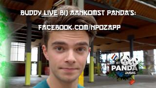 Pandajournaal LIVE - Aankomst panda's