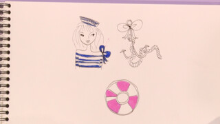 Jill DIY: Technisch tekenen - Marine look