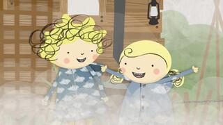 Nelli en Nora Sneeuw flurry