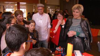 Prinses Laurentien bezoekt bijzonder project in Schilderswijk