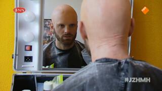 Tim Hofman wordt kaal