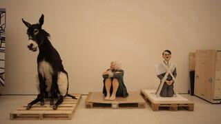 De donkere humor van Maurizio Cattelan