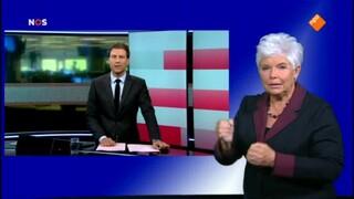 NOS Journaal 13.00 uur (Nederland 2) NOS Journaal met gebarentolk