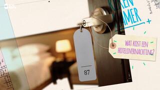 Wat kost een hotelovernachting?