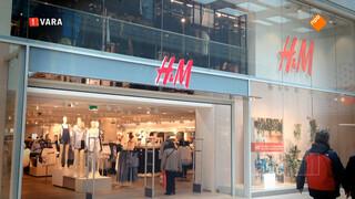 Kassa: H&M laat klanten in kou staan