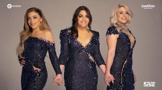 Fotoshoot Eurovisie-outfits OG3NE
