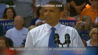 Obama onder vuur om speech van vier ton