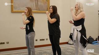 Choreografie repetitie OG3NE