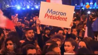 Macron jongste staatshoofd sinds Napoleon