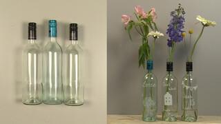 Van wijnflessen naar vazen