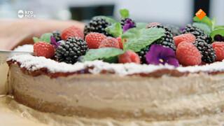 Bosvruchten cheesecake zonder zuivel