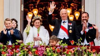 Royals vieren tachtigste verjaardag koning Harald