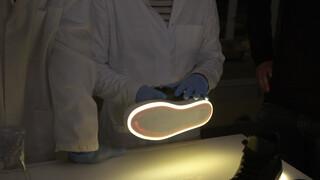 Hoe maak je lichtgevende schoenen van bacteriën?