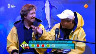 Bruno (SpangaS) 't Schip in met Klaas!