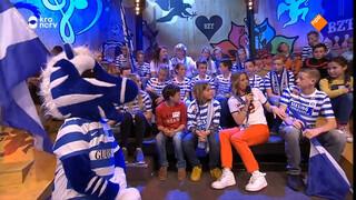 Tussen de Graafschap-supporters zitten