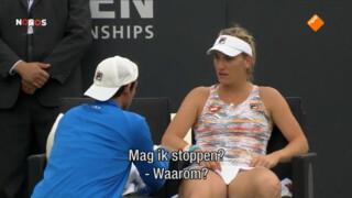 Tennisster in de clinch met coach: kan ik ook stoppen?
