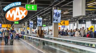 Drukte op Schiphol en reizen naar Tunesië