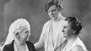 Drie Vorstinnen van Oranje Koningin Juliana