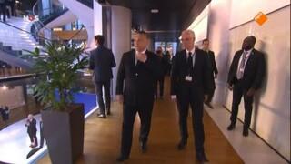 NOS Journaal 13.00 uur (Nederland 2) NOS Europese afscheidsceremonie Helmut Kohl