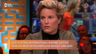 Jinek: Daphne Koster op de bres voor vrouwenvoetbal