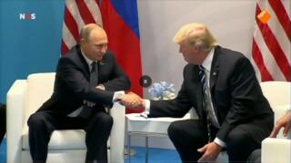 Trump en Poetin ontmoeten elkaar