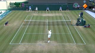 Spektakelstuk op Wimbledon: Nadal uitgeschakeld