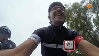 Kan Klaas harder fietsen dan een auto?