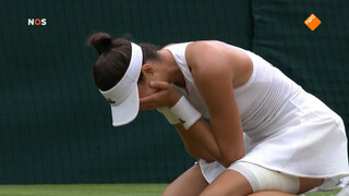Muguruza verslaat Williams en wint Wimbledon